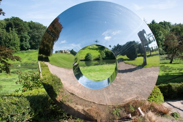 Cricket St Thomas: Garden Mirror