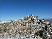 SJ0732 : Cadair Berwyn's true summit  - Craig Uchaf by Richard Law