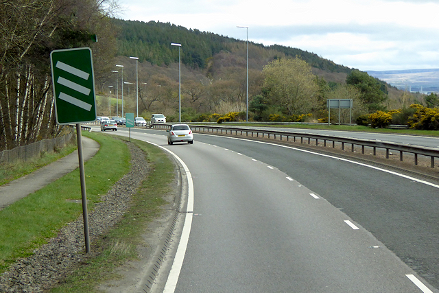 A9 approaching North Kessock Junction