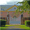 ST2885 : The side gate to the Stable Court, Tredegar House, Newport by Robin Drayton