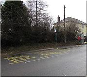 SO2606 : X24 bus stop, Varteg Road, Varteg by Jaggery