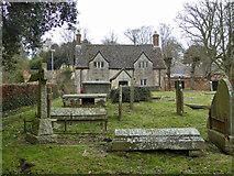 SU0061 : Sexton's house, St. John's churchyard, Devizes by Robin Webster