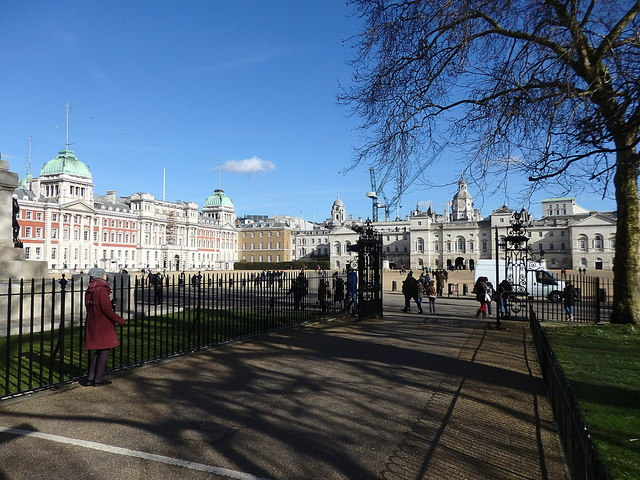 Horse Guards Parade and the Old Admiralty Building