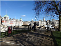 TQ2980 : Horse Guards Parade and the Old Admiralty Building by Rudi Winter