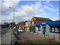 SE3707 : Shops on Pontefract Road, Lundwood by Jonathan Thacker