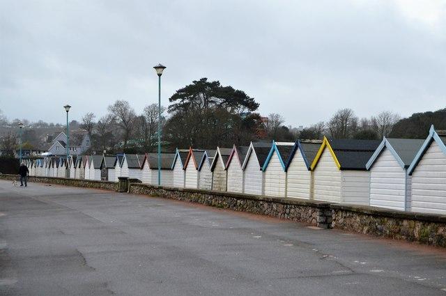 Beach huts, Goodrington Sands