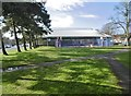 ST4676 : Portishead, leisure centre by Mike Faherty