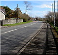 SN4301 : East along the A484 Gwscwm Road, Pembrey by Jaggery