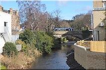 NT2273 : Water of Leith at Roseburn, Edinburgh by Jim Barton