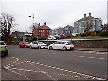 J4844 : Detached houses in St Patrick's Avenue, Downpatrick by Eric Jones