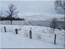 NS3778 : Carman Reservoir in snow by Lairich Rig