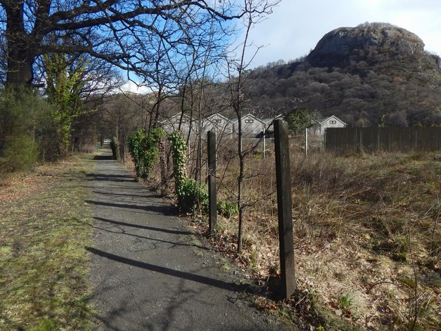 Path from the Dumbuck House Hotel