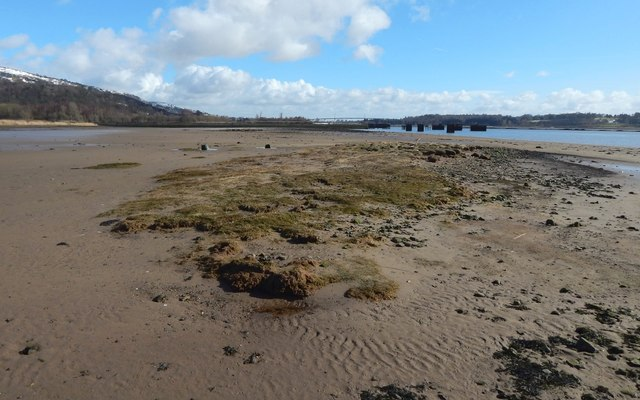 Milton Island: the western end