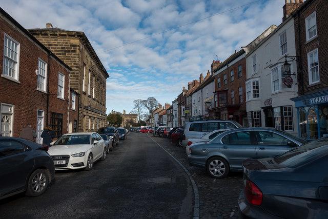 Stokesley street scene