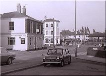 SJ7788 : Public houses beside Altrincham Crossings by Richard Sutcliffe