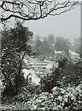 SX9065 : Torre in the snow from St Michael's chapel by Derek Harper