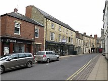 NY9364 : Market Street, Hexham by Andrew Curtis