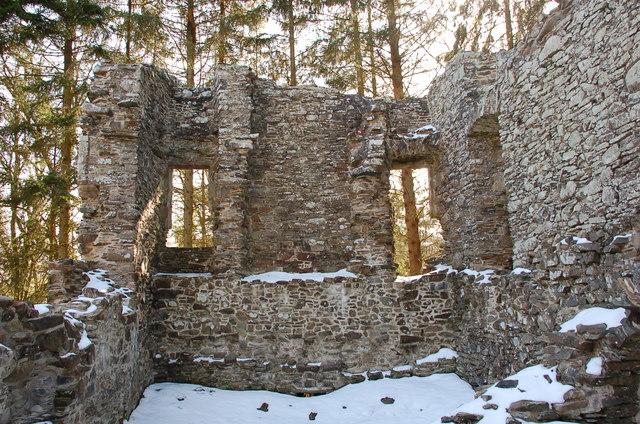Inside Torwoodlee Tower