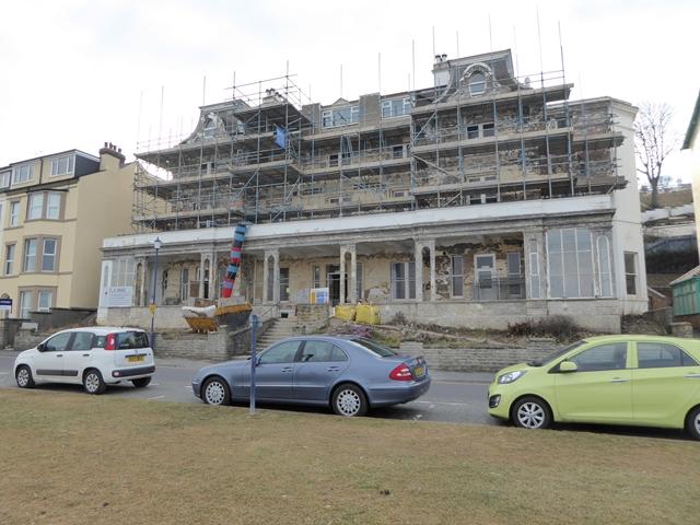 Undergoing extensive renovation