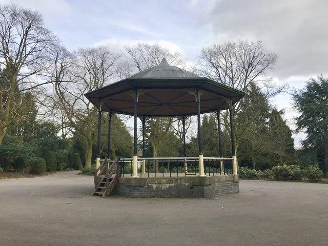 Bandstand in Queen's Park, Longton