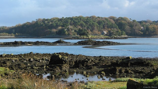 Church Island in the Menai Strait