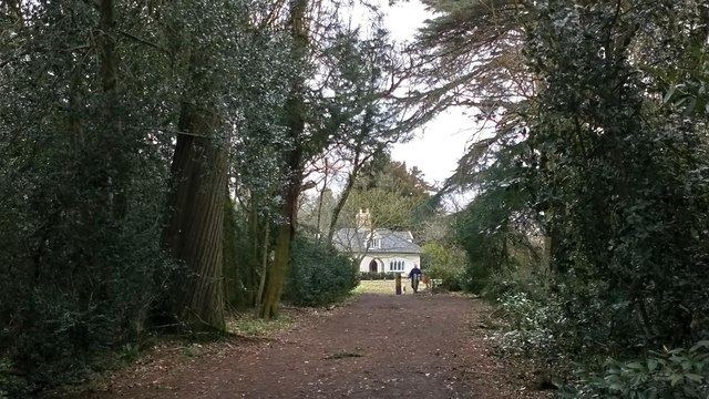 Toward The Lodge at Ickworth Park