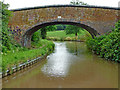 SP3295 : Glebe Farm Bridge south of Mancetter in Warwickshire by Roger  Kidd