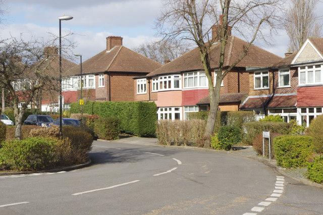 Ashridge Crescent, Shrewsbury Park Estate