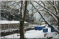 SX9064 : Snow by Torre Station by Derek Harper