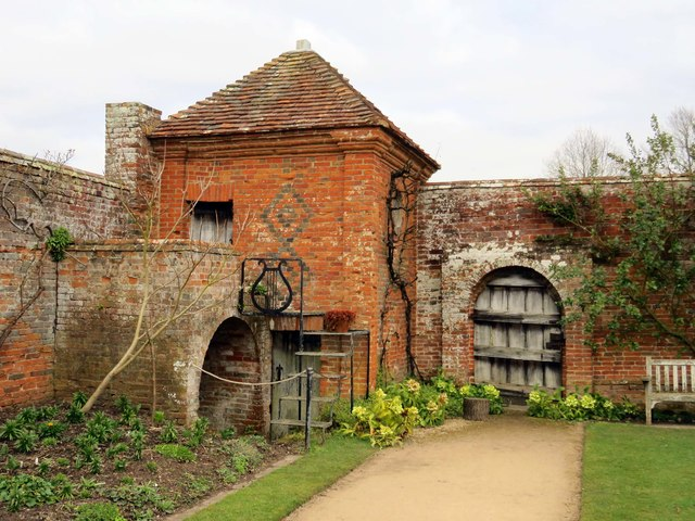 A corner of the garden at Packwood House