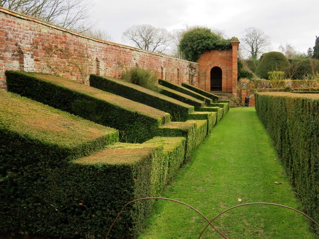 Part of the garden at Packwood House