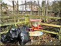 SJ9594 : A possible case of fly-tipping? by Gerald England