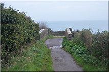 SX8958 : Footbridge over the railway by N Chadwick