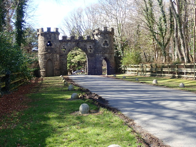 The Barbican Gate at Tollymore