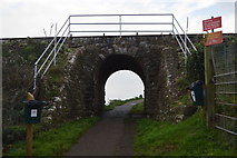 SX8958 : Railway Bridge, Waterside Holiday Park by N Chadwick