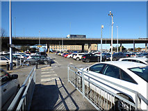NS4865 : Car park at Glasgow Airport by Thomas Nugent