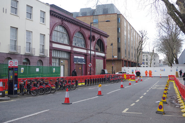 Melton Street, Euston
