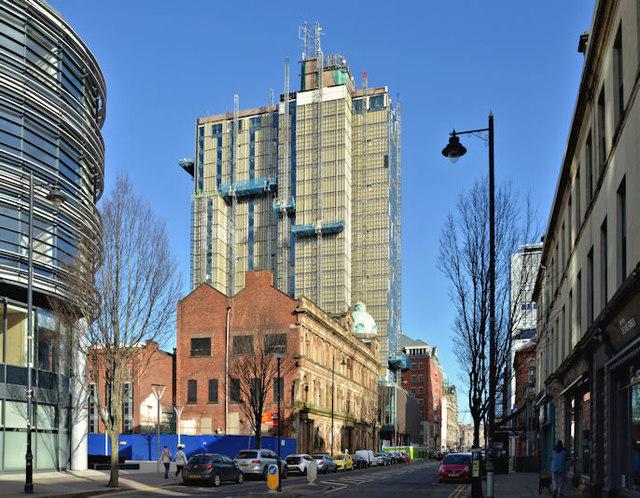 Windsor House redevelopment, Belfast - March 2018(5)