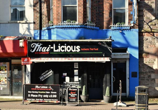 """""""Thai-Licious"""", Belfast (March 2018)"""