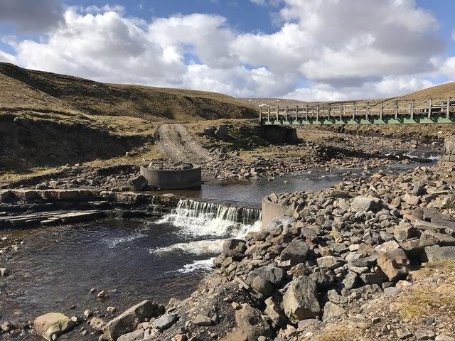 Ford at Burnhope Reservoir