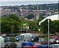 SD6827 : Asda car park in Blackburn by Mat Fascione