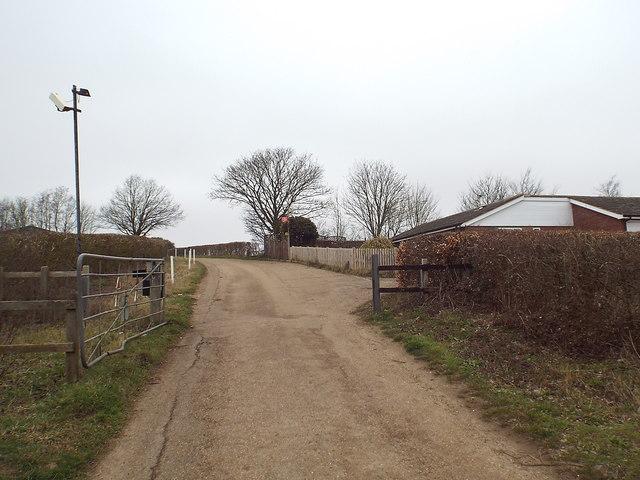 Gateway to Hulberry Farm, near Eynsford