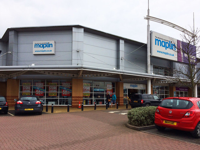 Maplin, Unit G2, Crossley Retail Park, Carpet Trades Way, Kidderminster, Worcs