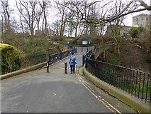 TA1181 : Footbridge over Church Ravine by Oliver Dixon