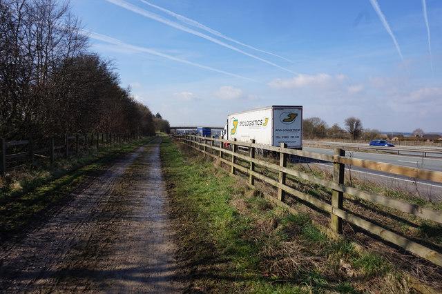 Path leading  towards Brigg