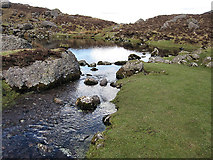 S3310 : Rocks and Tarn by kevin higgins