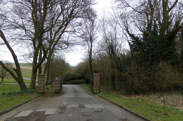 Entrance to Lawn Memorial & Woodland Valley Natural Burial Ground