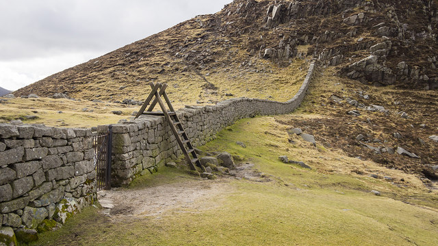 The Mourne Wall At The Hare S Gap 169 Rossographer
