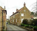 SK7731 : Nos. 1 & 3 Church Lane, Stathern by Alan Murray-Rust