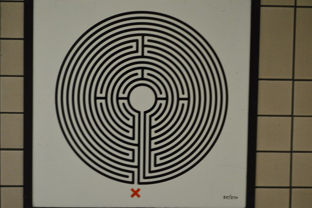 Labyrinth #55, Paddington